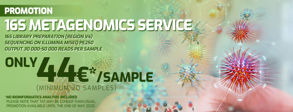16S Metagenomics Service